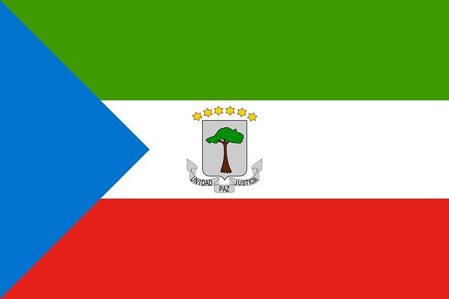 Äquatorial Guinea Flagge