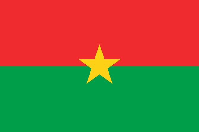 Burkina Faso Flagge