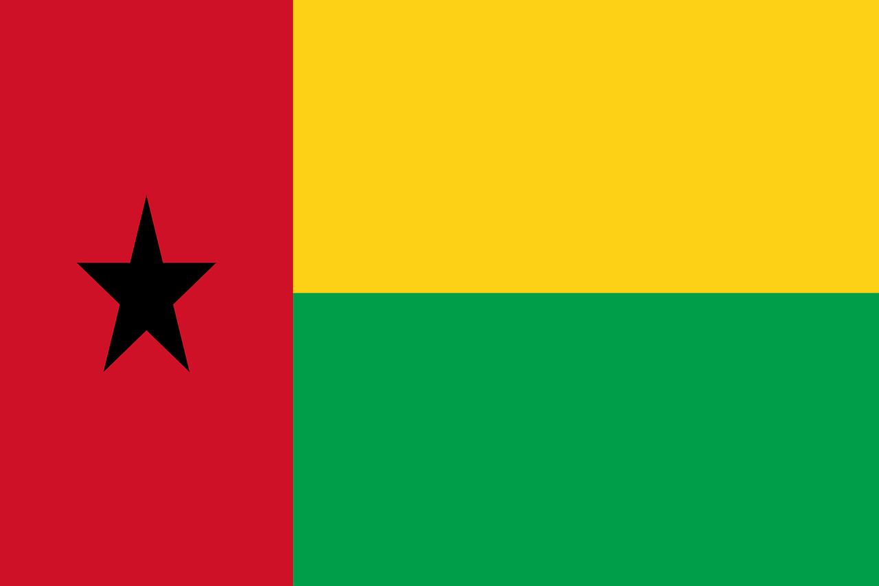 Guinea Bissau Flagge