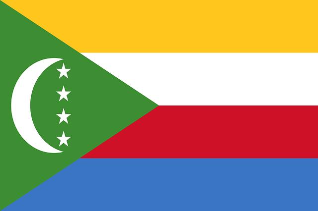 Komoren Flagge