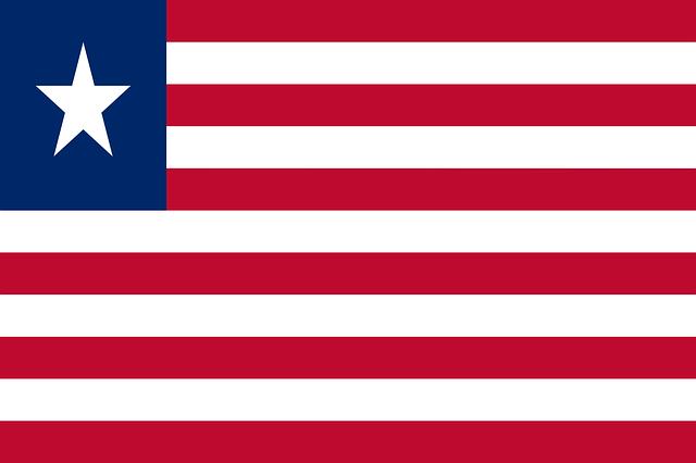 Liberia Flagge
