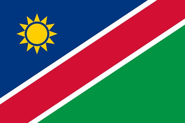 Namibia Flagge