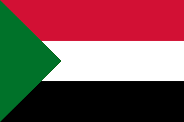 Sudan Flagge
