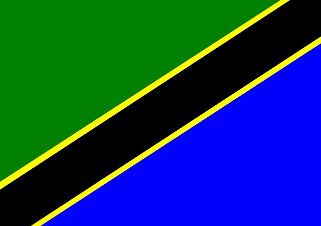 Tansania Flagge