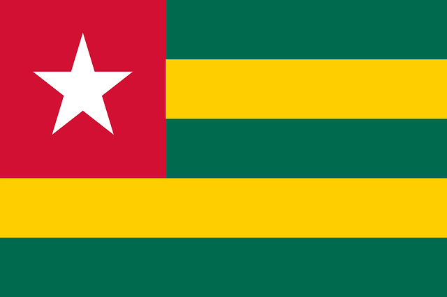 Togo Flagge