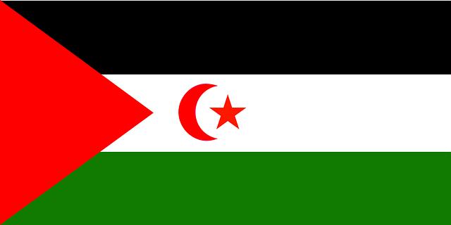 West Sahara Flagge