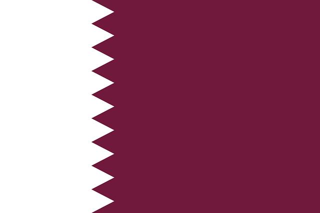 Katar Flagge