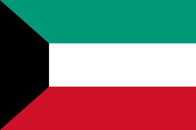 Kuwait Flagge