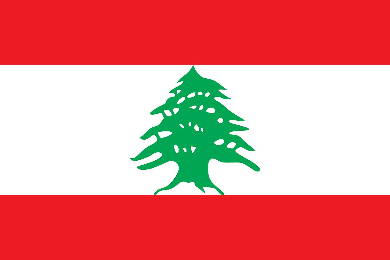 Libanon Flagge