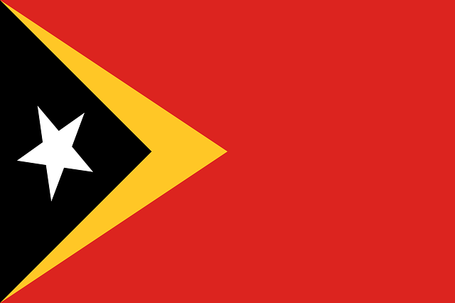 Osttimor Flagge