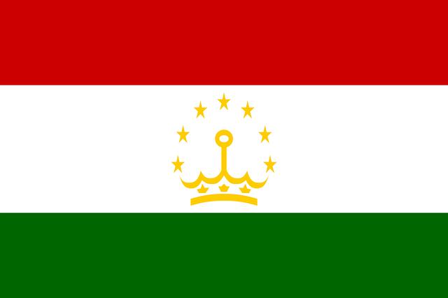 Tadschikistan Flagge