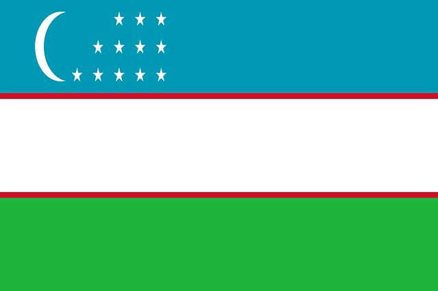 Usbekistan Flagge