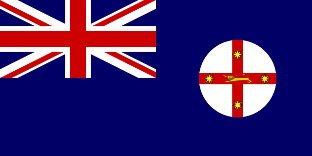 New South Wales Flagge