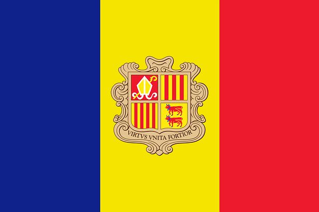 Andorra Flagge