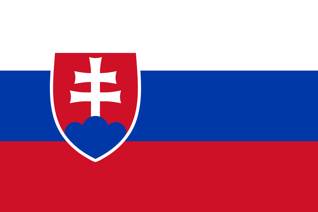 Slowakei Flagge