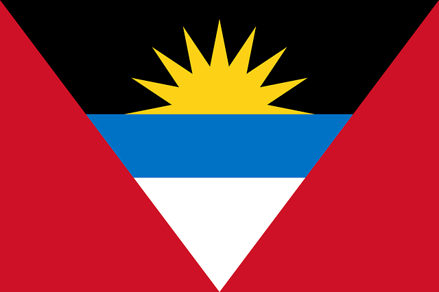 Antigua und Barbuda Flagge