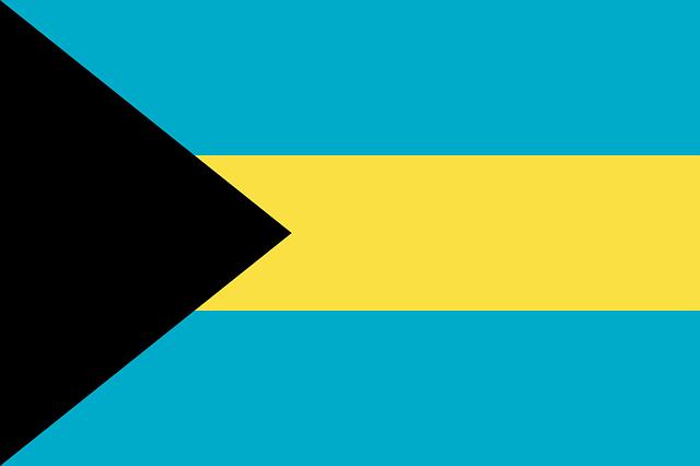 Bahamas Flagge