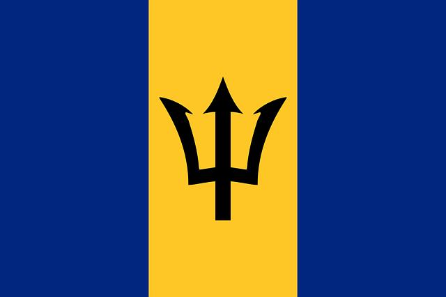 Barbados Flagge
