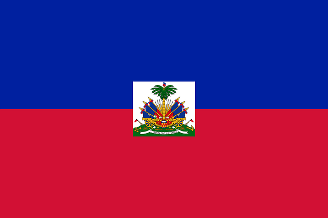 Haiti Flagge