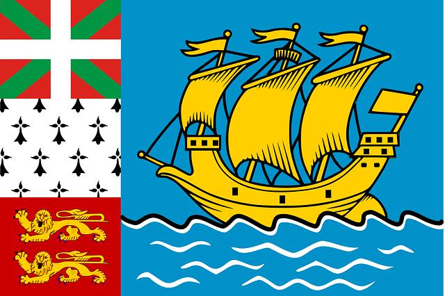 Saint-Pierre und Miquelon Flagge
