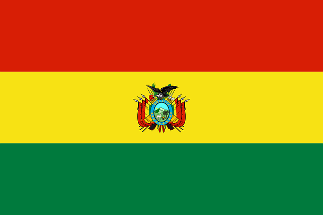 Bolivien Flagge