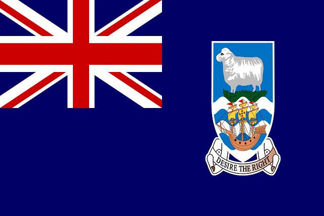 Falkland Inseln Flagge