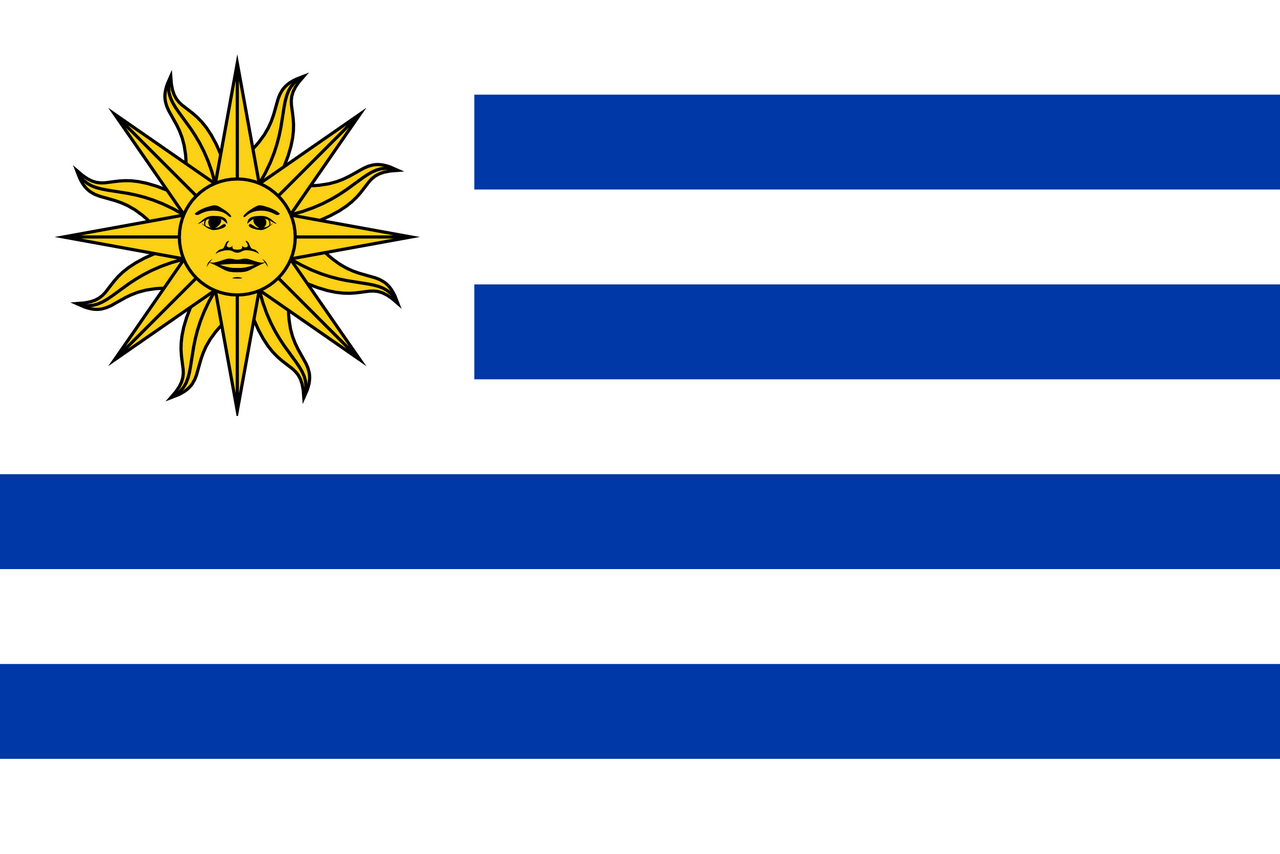 Uruguay Flagge