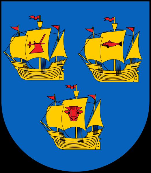 Ahrenshöft Wappen
