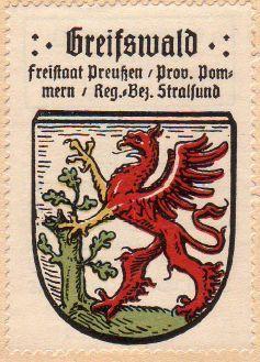 Greifswald Wappen