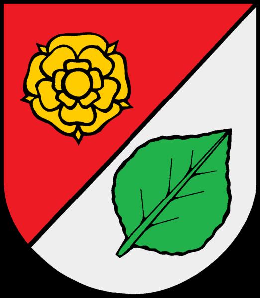 Groß Offenseth-Aspern Wappen