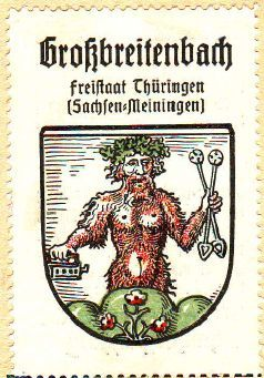 Großbreitenbach Wappen