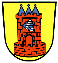 Höchstädt an der Donau Wappen