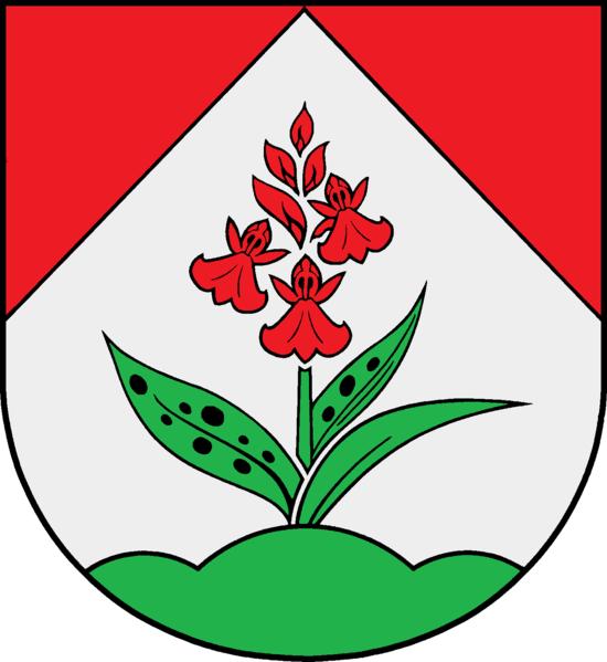 Hüttblek Wappen