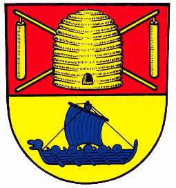 Kap Arkona auf Rügen Wappen