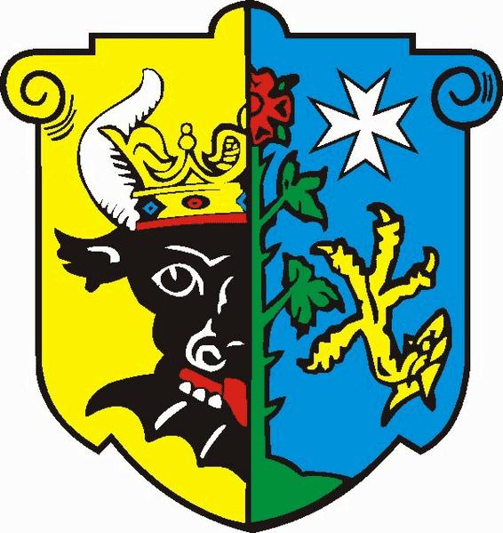 Kloddram Wappen