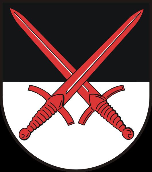 Klöden Wappen