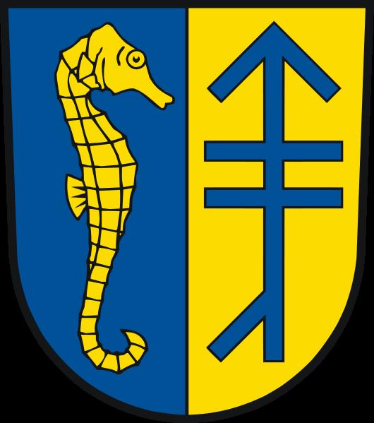 Kloster auf Hiddensee Wappen