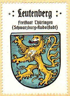 Leutenberg Wappen