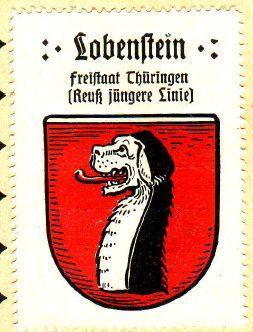 Lobenstein Wappen