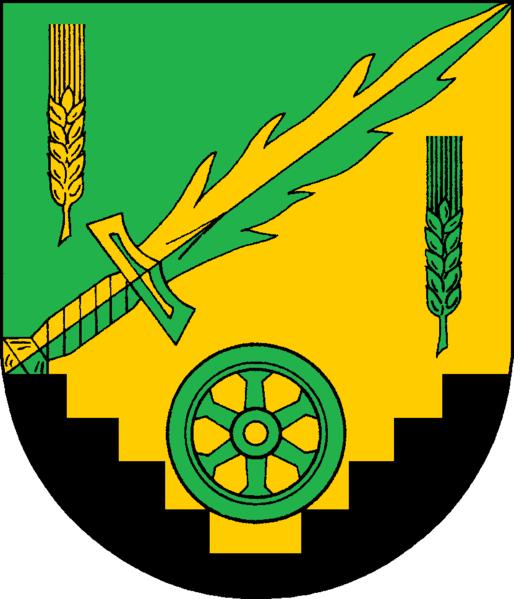 Maasbüll Wappen