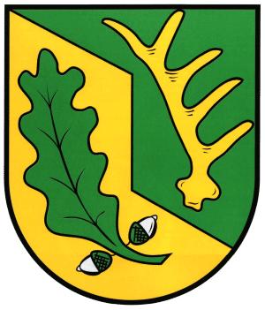 Mittelstrimmig Wappen