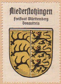 Niederstotzingen Wappen