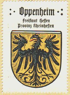 Oppenheim Wappen