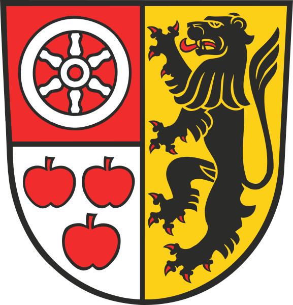 Saaleplatte Wappen