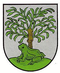 Sankt Alban Wappen