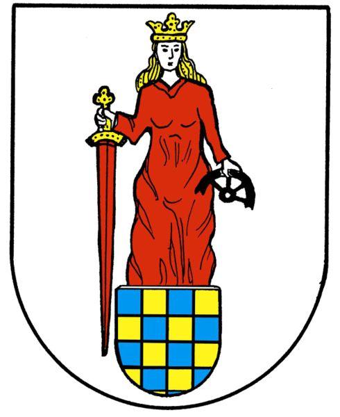 Sankt Katharinen Wappen