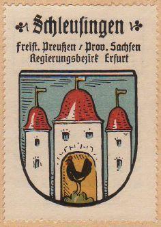 Schleusingen Wappen