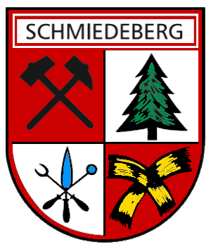 Schmiedeberg Wappen