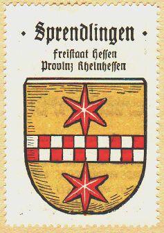 Sprendlingen Wappen