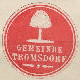 Tromsdorf Wappen
